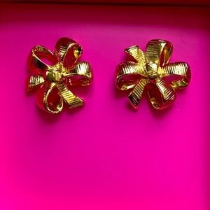 Lilly Pulitzer Bow Tie Earrings